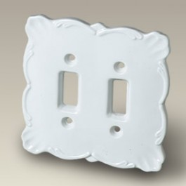 """5"""" x 5"""" Double Switch Plate"""