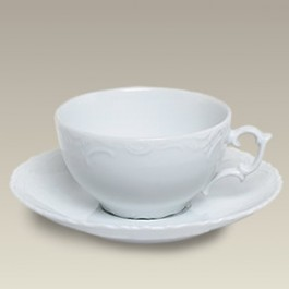 Cup and Saucer, 8 oz, SELECTED SECONDS