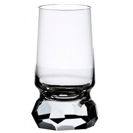 12.5 ounce BOMMA Stone Collection Crystal Water Glass - Set of 2