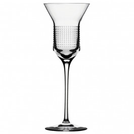 6.8 ounce BOMMA Dots Collection Crystal White Wine Glass - Set of 2