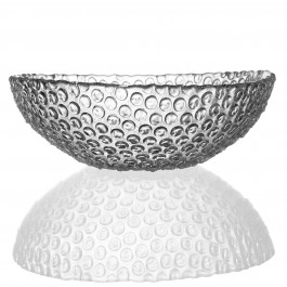 7.9 Inch BOMMA Diameter Bubbles Collection Crystal Bowl