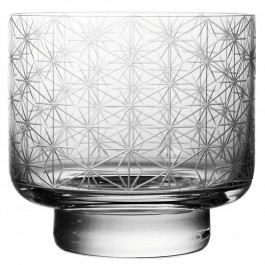 11.8 ounce BOMMA Stellis Collection Crystal Whiskey Glass - Set of 2
