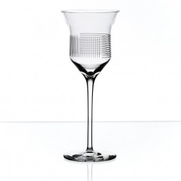BOMMA Lines Collection Crystal 8oz Red Wine Glass - Set of 2