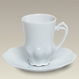 4 oz. Cup and Saucer, SELECTED SECONDS