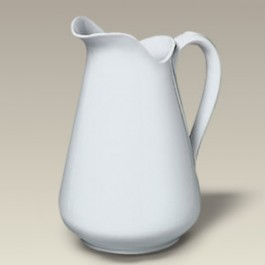 64 oz. Porcelain Pitcher, SELECTED SECONDS