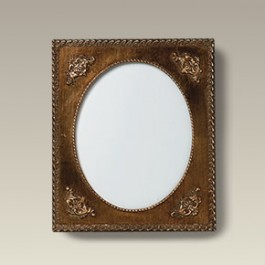 "Antique Style Gold Frame with 10"" x 8"" Tile"