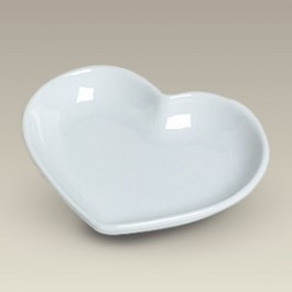 "4.75"" Heart Candy Dish, SELECTED SECONDS"