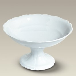 "9.25"" Simona Footed Fruit Bowl"