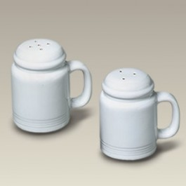 Large Ceramic Salt and Pepper Shakers