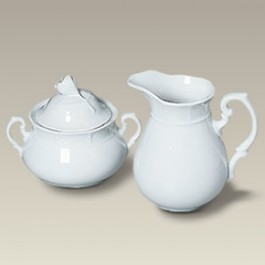 Minuet Sugar and Creamer