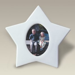 "6.75"" Star Photo Frame"