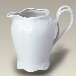 "3.5"" Round Eggshell Pitcher"