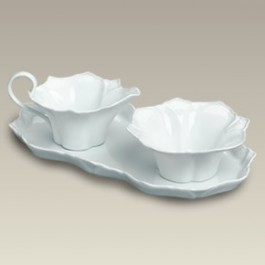 R.S. Prussia Style Sugar and Creamer Set