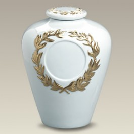 "9.5"" Covered Urn"