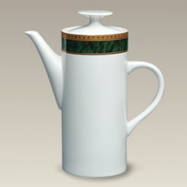 34 oz. Malachite Coffee Pot