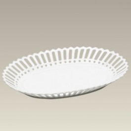 Oval Openwork Candy Dish, 10.62""