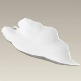"Leaf Shape Candy Dish, 12"", SELECTED SECONDS"