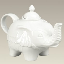 Elephant Shaped Teapot, 6""