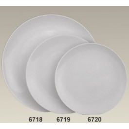 "10.5"" Porcelain Coupe Plate"