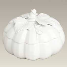 Pumpkin Shaped Candy Box, 6""