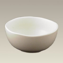 Cereal Bowl w/ Ivory Satin Glaze, 6""
