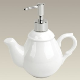 Teapot Shaped Soap Dispenser, 7.5""
