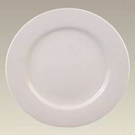 "10.625"" Rim Shaped Dinner Plate, SELECTED SECONDS"