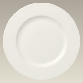 "11"" Cream Colored Dinner Plate"
