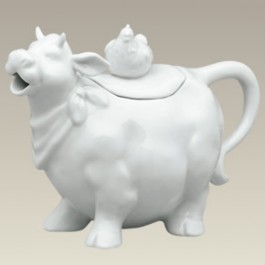 Cow Shape Teapot, 6""