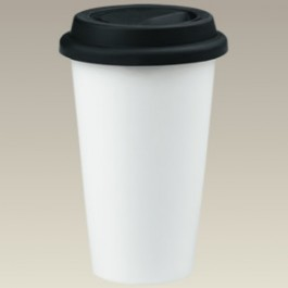 Double walled insulated 11 oz. Travel Mug