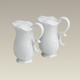 Pitcher Shaped Salt and Pepper Shakers