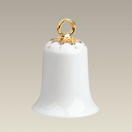 "3"" Hanging Bell with Gold"