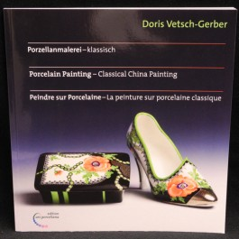 Porcelain Painting - Classical China Painting by D. Vetsch-Gerber