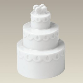 Wedding Cake Place Card Holder, 3""