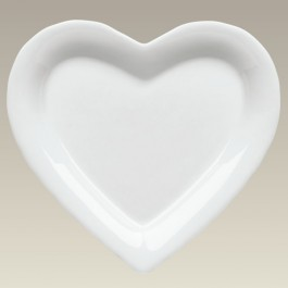 Heart Shape Plate, 7""