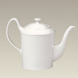 Limoges Shape Cream Teapot, 36 oz