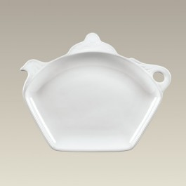 """9"""" Teapot Shaped Plate, SELECTED SECONDS"""