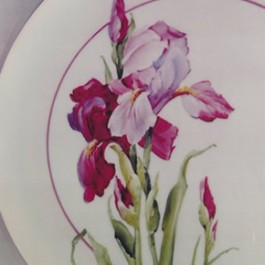 Matching Pair of Iris by Mary Ashcroft