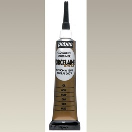 Porcelaine 150 Outliner Tube, Gold