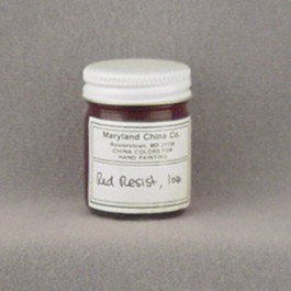 Red Resist Coating, 1 oz