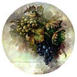 Purple and Blue Grapes by Sonie Ames