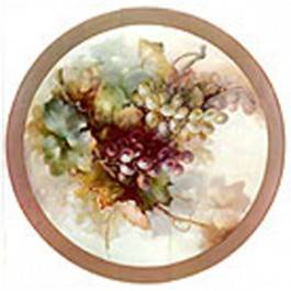 Large Grape Plate by Sonie Ames