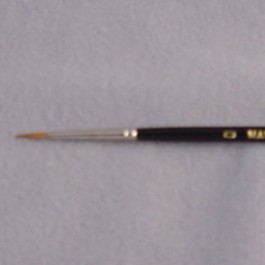 Sable Brush, #0 Pointed Liner
