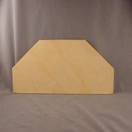 "16"" Octagonal Half Kiln Shelf for Cress 23 Models"