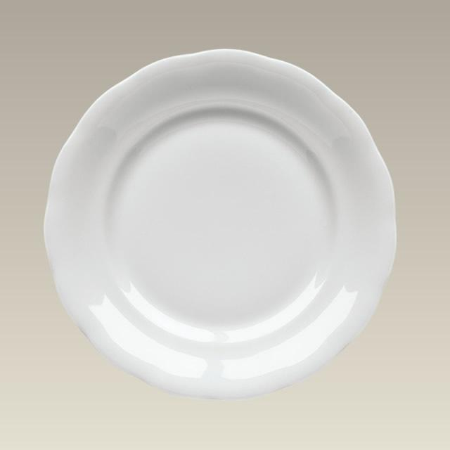 Scalloped Rim Plate, 7.5&quot;