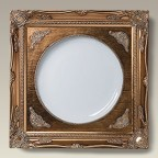 """Antique Style Gold Frame with 10.25"""" Plate"""