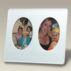 "10.5"" x 9.5"" Double Picture Frame"