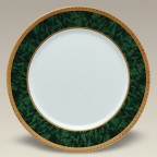 "12"" Malachite Charger Plate, SELECTED SECONDS"