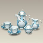 Blue and Gold Tea Set, SELECTED SECONDS