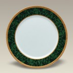 "Malachite Dinner Plate, 10.5"", SELECTED SECONDS"